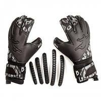 Детские вратарские перчатки  Brave GK Reflex Black