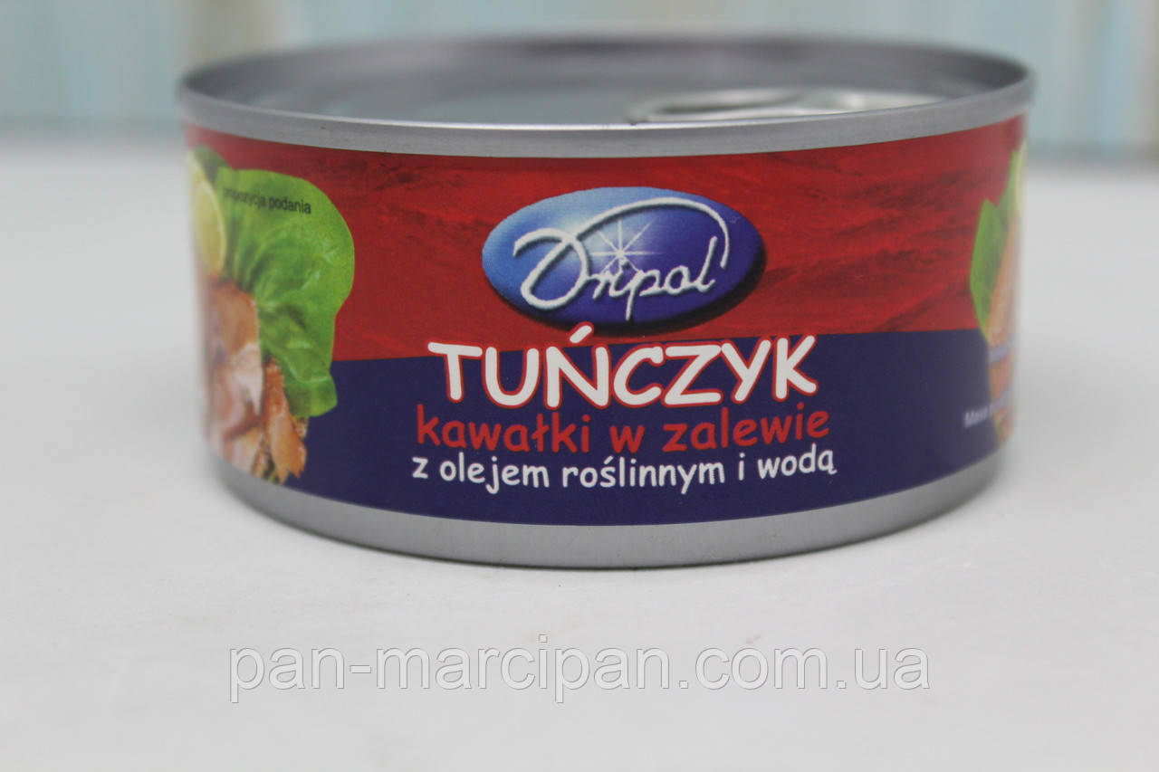 Тунець Tunczyk kavalki Dripol 170г