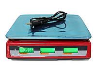 Торговые весы со счетчиком цены Crownberg CB-5007 до 40 кг, фото 1