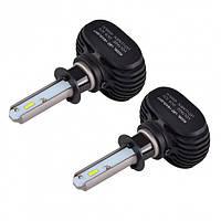 Автолампи LED S1 HB3 (9005). LED лампи для автомобіля. Автомобільні лампи., фото 1