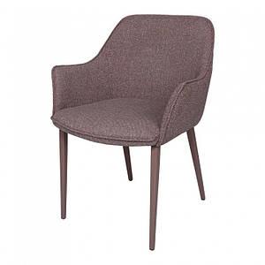 Обеденное кресло MILTON (Милтон) какао от Nicolas, текстиль