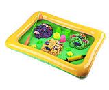 Детская игра с кинетическим песком + рыбалка на магнитную удочку, Danko Toys, фото 2