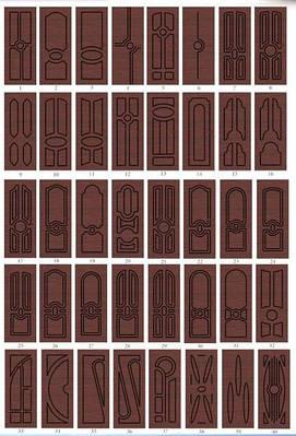 Накладки на двери