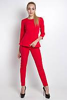 ✔️ Женский костюм Daniel 3/4 брюки и блузка молния на спинке 42-52 размеры разные расцветки