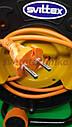 Удлинитель на катушке 25 метров, выносная розетка, сечение провода 2х1,5 мм², с  термозащитой, фото 4