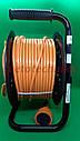 Удлинитель на катушке 25 метров, выносная розетка, сечение провода 2х1,5 мм², с  термозащитой, фото 6