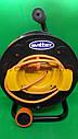 Удлинитель на катушке 25 метров, выносная розетка, сечение провода 2х1,5 мм², с  термозащитой, фото 5