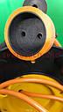 Удлинитель на катушке 25 метров, выносная розетка, сечение провода 2х1,5 мм², с  термозащитой, фото 7