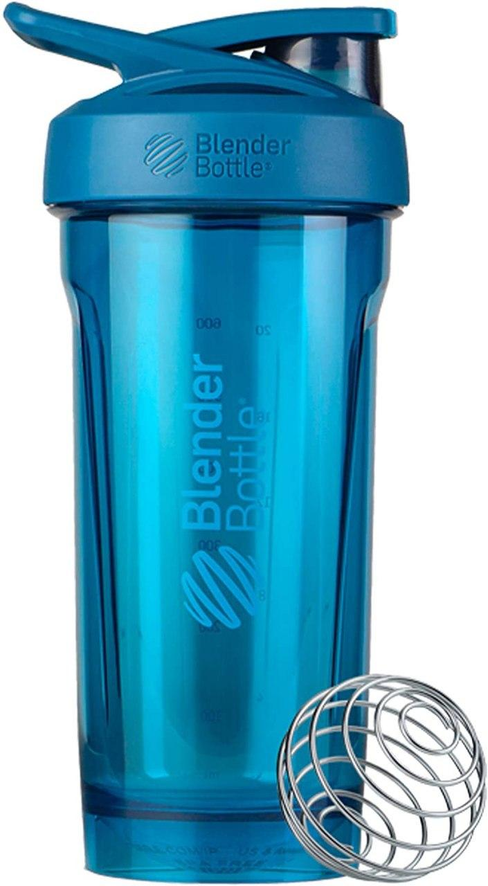 Спортивная бутылка-шейкер BlenderBottle Strada Tritan 28oz/820ml Ocean Blue (ORIGINAL) голубой