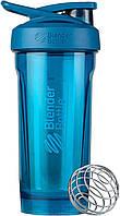 Спортивная бутылка-шейкер BlenderBottle Strada Tritan 28oz/820ml Ocean Blue (ORIGINAL) голубой, фото 1