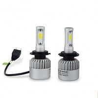 Автолампа LED S2 H4. LED лампы для автомобиля. Автомобильные лампы., фото 1