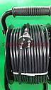 Удлинитель на катушке 40 метров SVITTEX, сечение провода 2х1,5 мм², с  термозащитой, фото 6