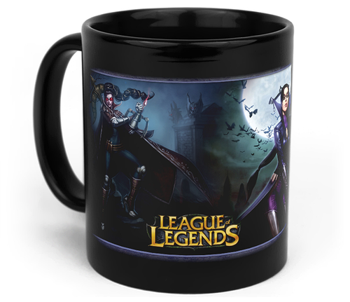 Кружка чашка Vayne League of Legends