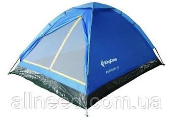Трехместная Палатка KingCamp Monodome 3 blue