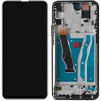 Дисплей Huawei P Smart Z тачскрин, модуль в сборе, рамка Black