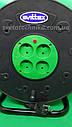 Удлинитель на катушке 30 метров SVITTEX, сечение провода 2х2,5 мм² с  термозащитой, фото 4