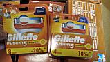 Леза, касети, картриджі Gillette Fusion 5 4шт / Жилет Ф'южн 5 4шт, фото 3
