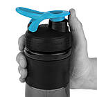 Спортивная бутылка-шейкер BlenderBottle SportMixer 820ml Black/Teal (ORIGINAL), фото 2