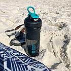 Спортивная бутылка-шейкер BlenderBottle SportMixer 820ml Black/Teal (ORIGINAL), фото 7
