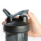 Спортивная бутылка-шейкер BlenderBottle Pro24 Tritan 710ml Black (ORIGINAL), фото 2