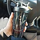 Спортивная бутылка-шейкер BlenderBottle Pro24 Tritan 710ml Black (ORIGINAL), фото 5