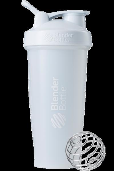Спортивный шейкер BlenderBottle Classic Loop 820ml White (ORIGINAL)