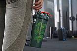 Спортивный шейкер BlenderBottle Classic Loop 820ml Special Edition Green-Coral (Art Palm)  (ORIGINAL), фото 4