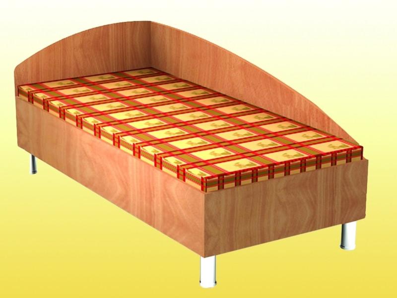 Кровать №1 2036х936х850мм. (без матраса)