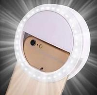 Селфи кольцо Selfie Ring Light RK12,вспышка-подсветка светодиодная для телефона, это функциональный аксессуар
