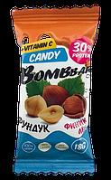 Протеиновая конфета BOMBBAR Лен-Фундук-Финик (18 грамм)