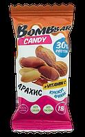 Протеиновая конфета BOMBBAR Финик-Арахис-Кунжут (18 грамм)