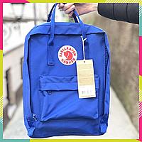 Рюкзак Fjallraven Kanken Classic Канкен 16 литров, Светло-синий, Top replic, сумка, портфель городской