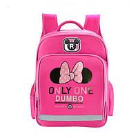 Школьные рюкзаки модные с любимыми героями Микки и Минни Маус для девочек 1 2 3 4 класс