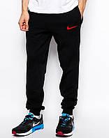 Спортивные штаны Найк, мужские штаны Nike на манжете, Турецкий трикотаж (весна/лето/осень/зима) реплика