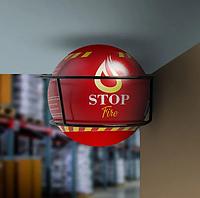 Самосрабатывающий Огнетушитель -  Автономная сфера порошкового пожаротушения LogicPower Fire Stop S9.0M