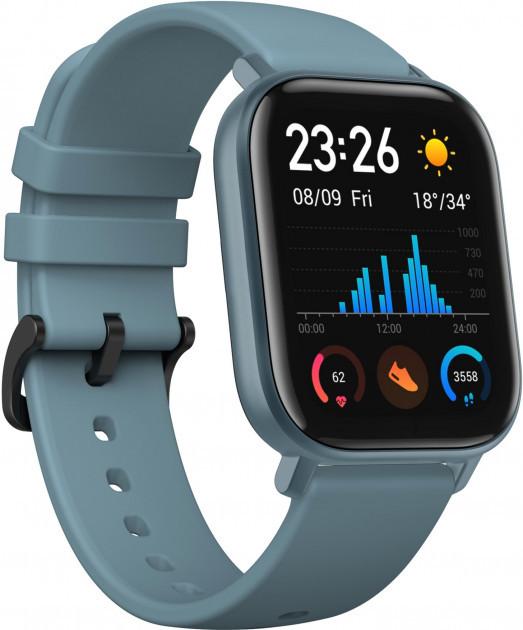 Умные смарт-часы Amazfit GTS Blue (Global Version)