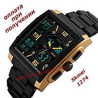 Часы мужские спортивные противоударные водонепроницаемые Skmei 1274 ОРИГИНАЛ