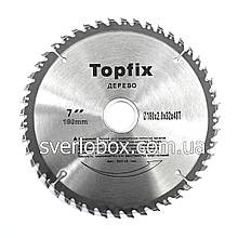 Пильний диск по дереву TopFix 125*22.23*36Т