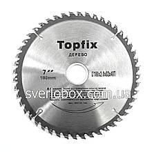 Пильный диск по дереву TopFix 185*20*40Т
