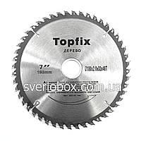 Пильный диск по дереву TopFix 254*30*60Т