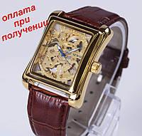 Мужские чоловічі механические часы скелетон SEWOR- Winner Skeleton ОРИГИНАЛ