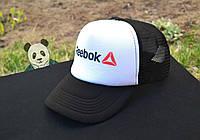 Мужская кепка Рибок, спортивная кепка Reebok, летняя кепка с сеткой