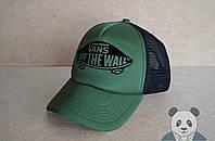 Мужская кепка Ванс, спортивная кепка Vans, летняя кепка с сеткой