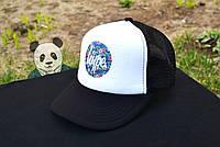 Мужская кепка Хайп, спортивная кепка Hype, летняя кепка с сеткой