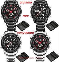 Мужские военные армейские спортивные часы NAVIFORCE NF905 Led ОРИГИНАЛ