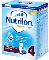 Nutricia Смесь Nutrilon Premium+ 4, 600г