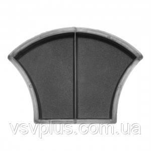 Фігурна форма Луска шагрень половинки 116×168×45 мм Верес 1 шт