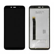 Дисплей Blackview BV5500, BV5500 Pro с сенсором (тачскрином) черный