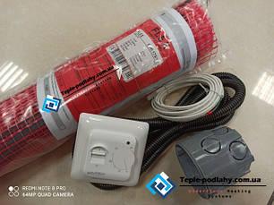 Нагревательный кабель в мате класс защиты IPX7 Латвия FLEX EHM Серия RTC 70.26 Спец Цена
