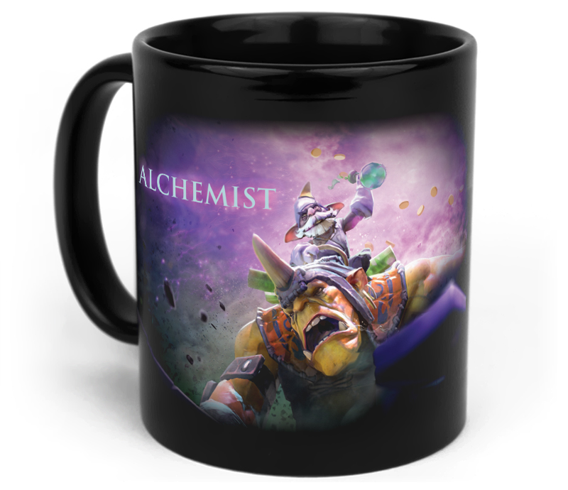 Кружка чашка Alchemist Dota 2